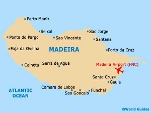 5 дmadeira city map